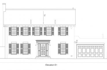 External Elevation building