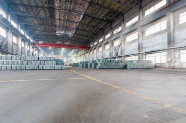 lead ingots storehouse